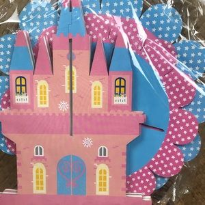 Other - Princess castle cupcake tower